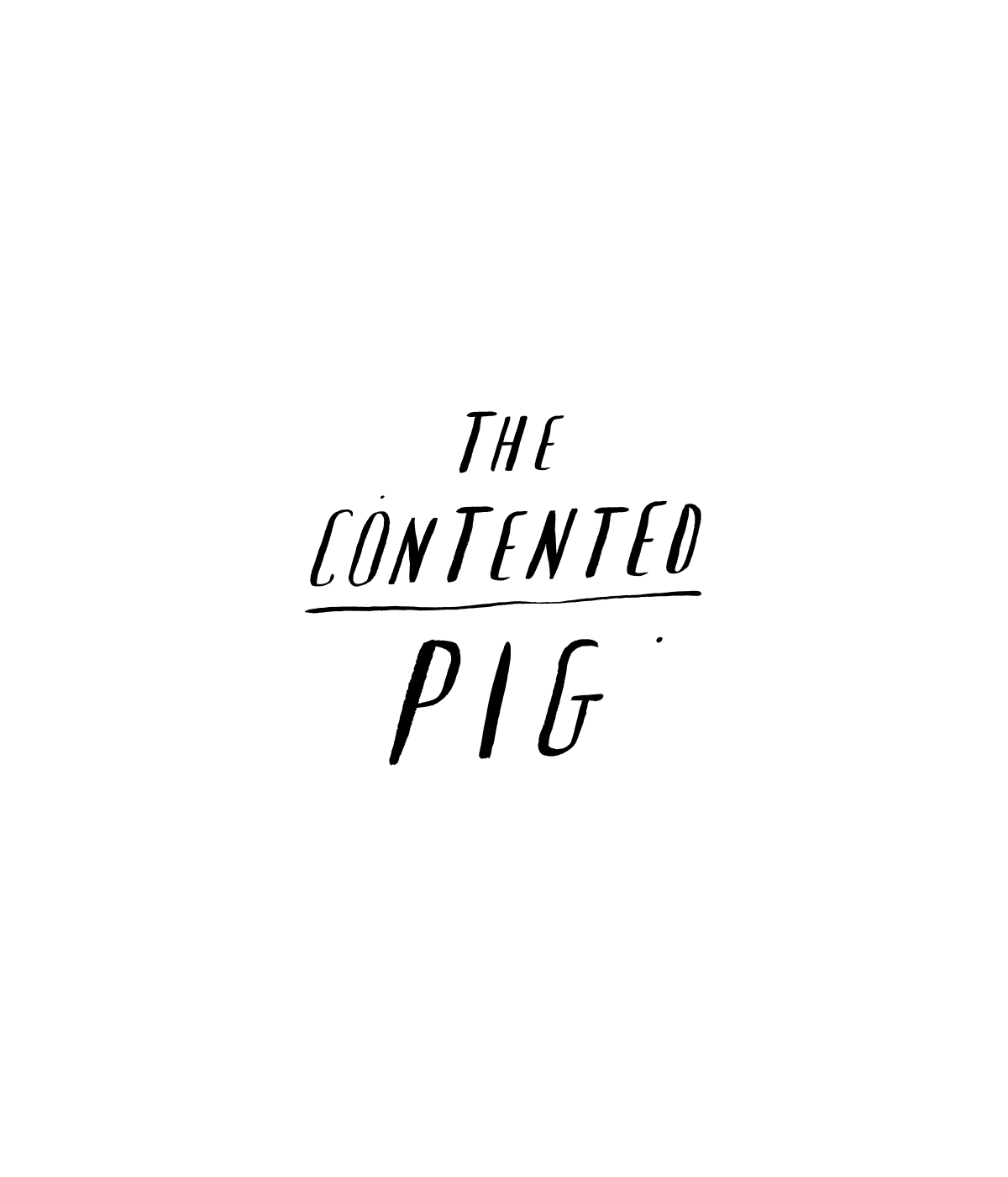 The Contented Pig